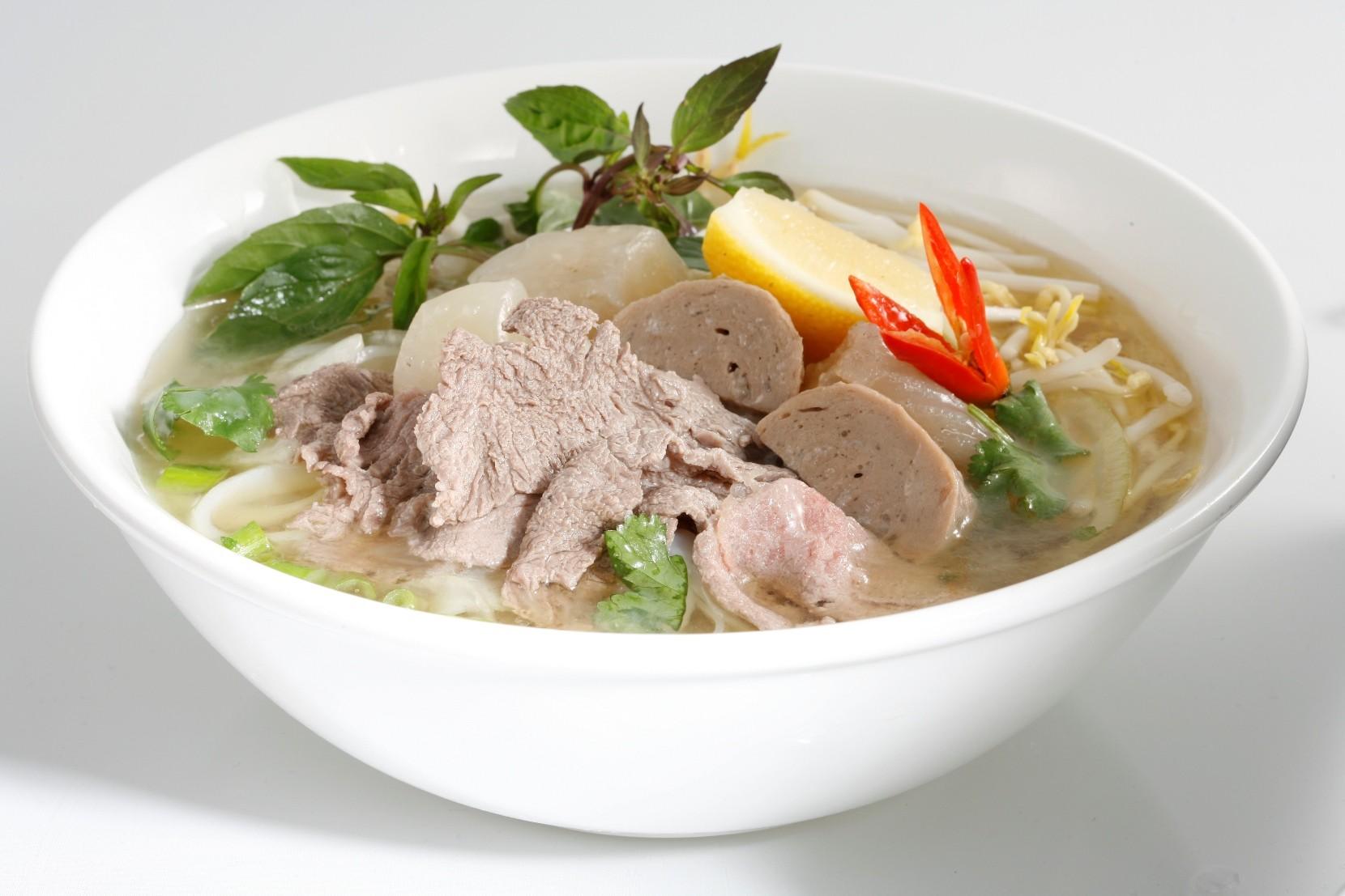Pagrindinis Vietnamo virtuvės patiekalas - sriuba